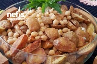 Nohutlu Patates Salatası Tarifi