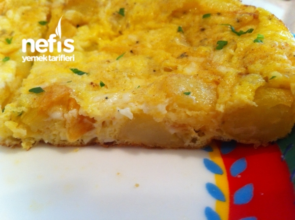 Patatesli Omlet - Canan Gunduz - Nefis Yemek Tarifleri