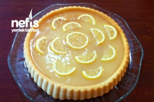 Limon Jöleli Pamuk Prenses Pastası