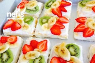Meyvelerin Aşkı (Yaş Pasta) Tarifi