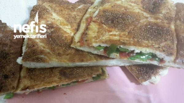 Ramazan Pidesi İle Çıtır Tost