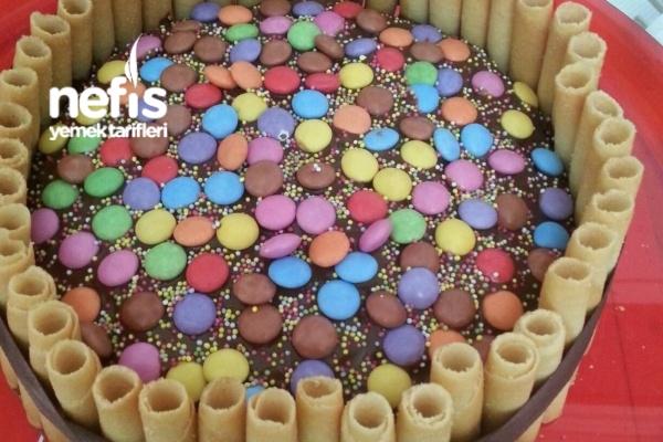Çocuklara Pratik Yaş Pasta Tarifi