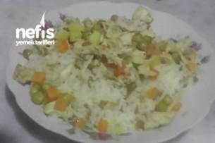 Garnitürlü Tavuklu Pirinç Pilavı Tarifi