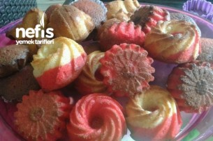 Renkli Keklerim Tarifi