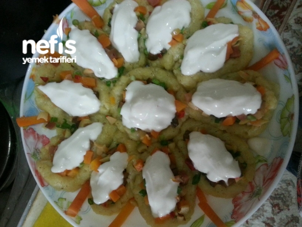 Patates Yataginda Salata
