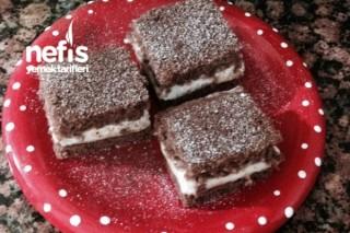 Dolgu Kremalı Yumuşacık Kakaolu Kek Tarifi