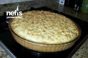 Elmalı Pudingli Pasta Yapımı Tarifi