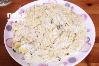 Salatalıklı Patates Püresi Tarifi