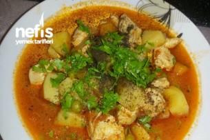 Tavuklu Sulu Sebze Yemeği Tarifi