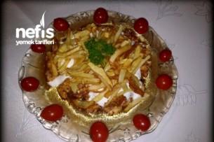Tavuklu Çökertme Kebabı Resimli Tarifi