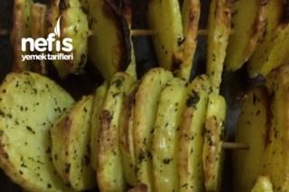 Fırında Şiş Patates Tarifi