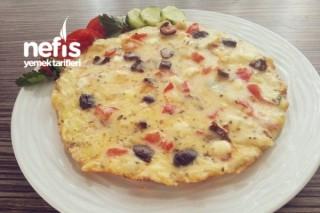 Kırpık Pizza Börek Tava Veya Fırında Tarifi