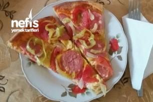 Kolay Pizza Yapımı Tarifi