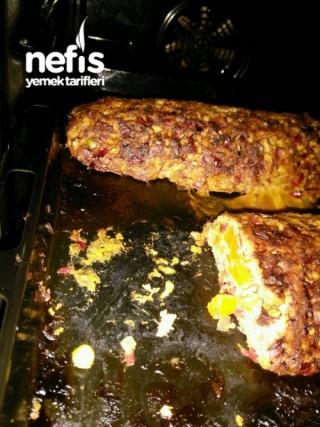 Fırında Garnitürlü Tavuk Rulo