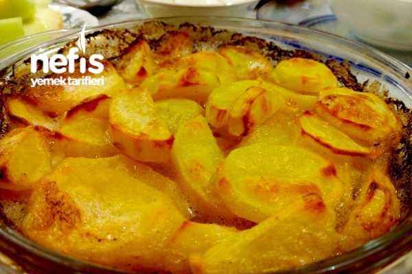 Kremalı Sarımsaklı Patates