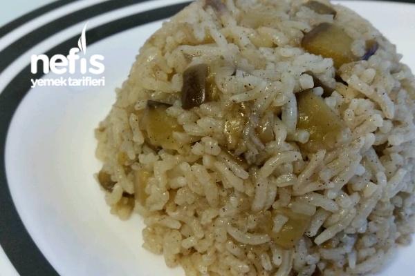 Patlıcanlı Pirinç Pilav