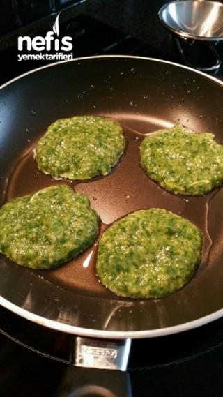 Ispanaklı Hindi Dökme (Pancake Gibi) 12+