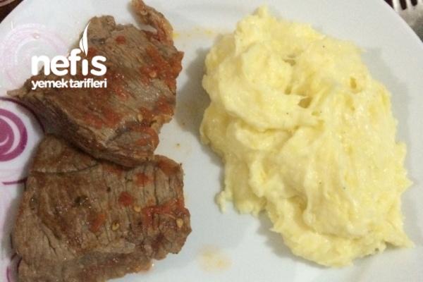 Patates Püresi Ve Biftek Tarifi