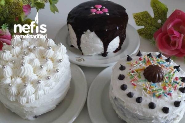 Kase İle Yapılan Yaş Pasta Tarifi
