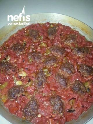 Fırında Etli Domates Tavası