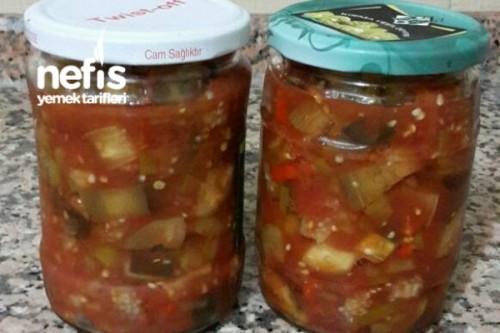 Kışlık Patlıcan Konservesi Yapımı Videosu