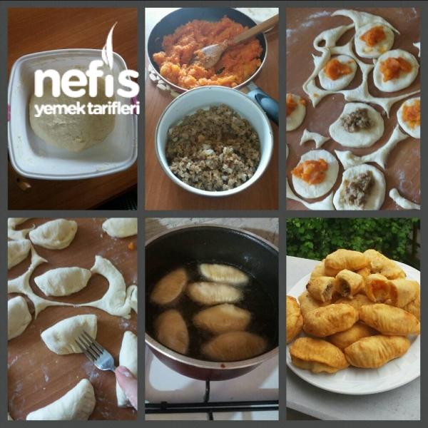 Kıymalı -patatesli minik börekler
