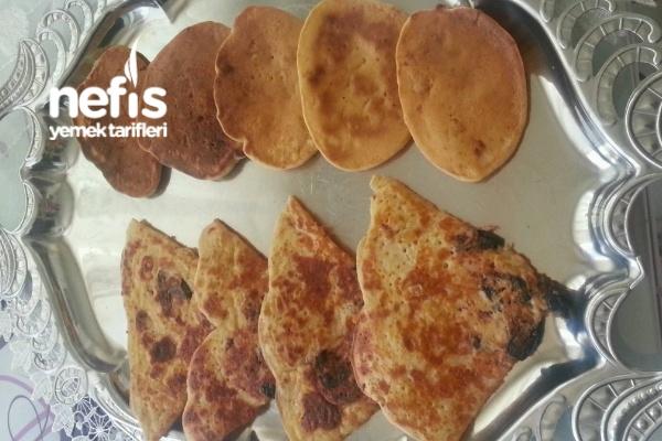 Kaşık Dökmesi Pizza Tadında Tarifi