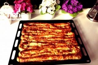 Hazır Yufkadan Kol Böreği El Açması Tadında Tarifi