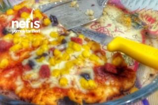 Mayalı Hamurla Pizza Tarifi