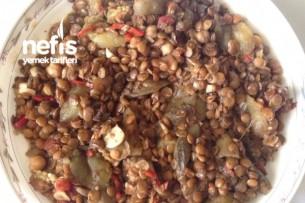Mualla Yeşil Mercimekli Patlıcan Yemeği Tarifi