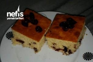 Yaban Mersinli Ve Çikolatalı Kek Tarifi