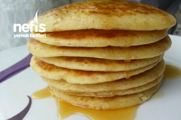Kahvaltılık Pankek Kabartma Tozlu Tarifi