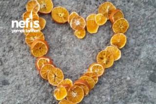 Portakal Kurusu Şekerleme Tarifi