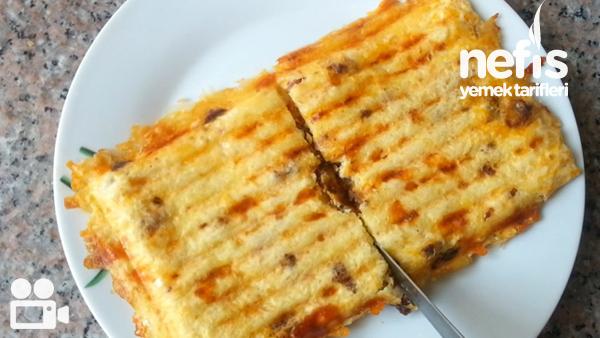 Sucuklu Patates Tost Tarifi