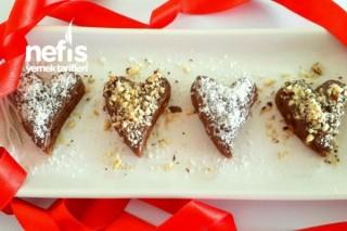 Çikolatalı Kokoş Kalpler Tarifi