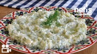 Salatalıklı Patatesli Meze Yapımı Tarifi
