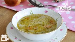 Makarnalı Tavuk Suyu Çorbası Yapımı