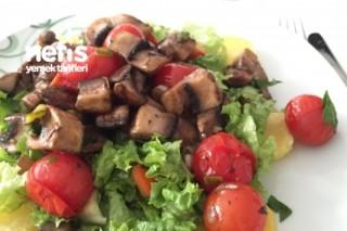 Mantarlı Sıcak Salata Tarifi