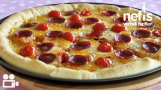 Dolgu Kenar Pizza Tarifi