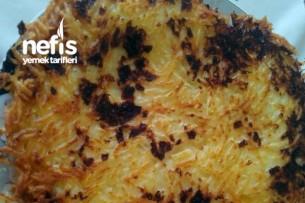 Tavada Kaşarlı Patates Tarifi