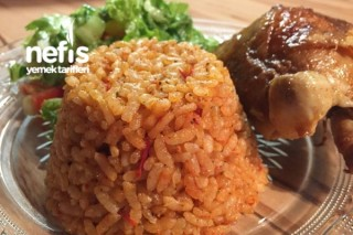 Naneli Domatesli Pirinç Pilavı Tarifi