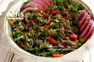 Maydanoz Salatası (Atom Salata) Tarifi