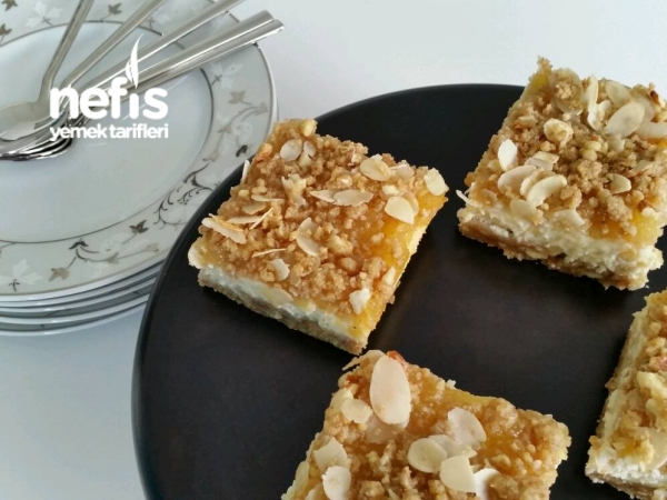 Elma Püreli Kare Cheesecake