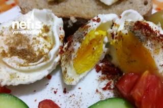 Kahvaltıya 1 Dakikada Yumurta (Mikrodalgada) Tarifi