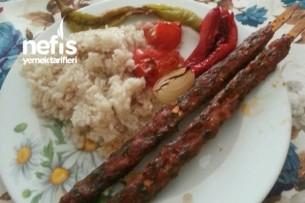 Çop Şişte Ev Yapımı Adana Kebabı Tarifi