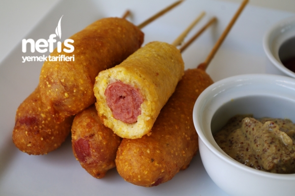 Sosis Kaplama (orjinal Adi- Corn Dog)