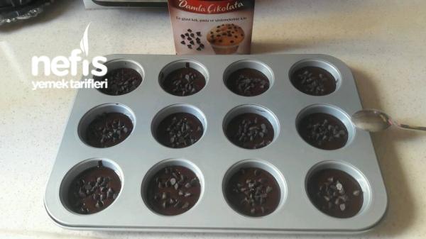 Duble Çikolatalı Topkek