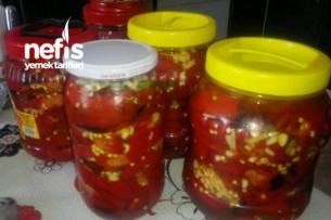 Kırmızı Biber Konservesi ve Nefis Kahvaltılık Yapımı – Kışlık Hazırlıkları 14