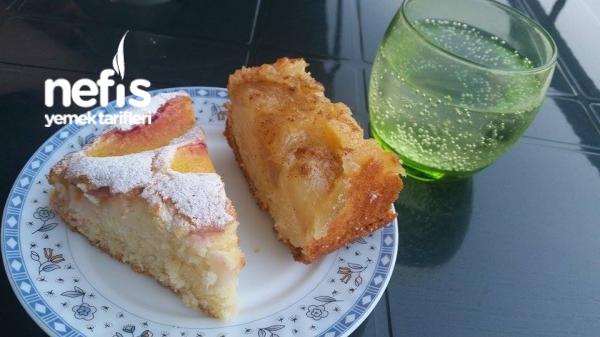 1 Hamurla 2 Kek (elmalı-şeftalili)