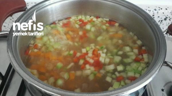 Bulgurlu Sebze Çorbası(6 Ay Ve Sonrası)